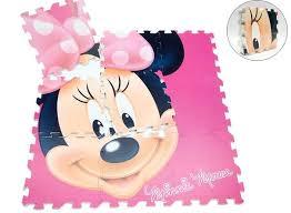 tappeto puzzle disney disney minnie tappeto gioco puzzle 9 tessere fumetto toctocshop