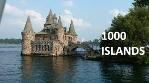 Thousand Islands 1000 islands boat tour in gananoque kingston ontario canada youtube