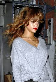 pictures of rihanna long wavy hairstyles