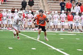 barn burner in ithaca as tigers fall to big red in lacrosse we trust