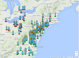 northeastern cus map fireball spotted southern ontario northeastern u s