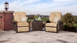Patio Recliners Chairs Breckenridge Patio Recliner Natural Tan U2013 La Z Boy Outdoor