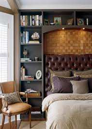 bedrooms mens bedroom ideas with built in shelves mens hipster