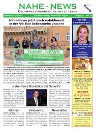 Dr Mann Bad Sobernheim Nahe News Die Internetzeitung Kw 44 11 By Markus Wolf Issuu
