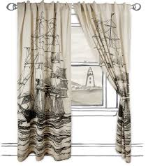 curtains nautical curtains window treatments decor decoration