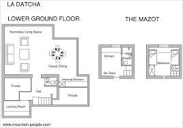 chalet floor plans and design la datcha ski chalet rental in megève mountain people