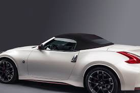 nissan 370z nismo wrapped nissan 370z nismo roadster concept makes its debut in chicago