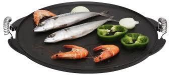 plancha cuisine reversible plancha grill in enamelled cast iron 42 cm tom