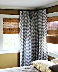 best fresh chevron shower curtain black and white 9655