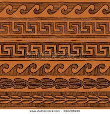 Greek Vase Design Hand Drawn Sketch Ancient Greek Vase Stock Illustration 721331404
