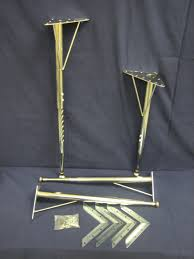 Adjustable Folding Table Leg Precious Metal Fing Table Legs Metal Fing Table Legs To Appealing
