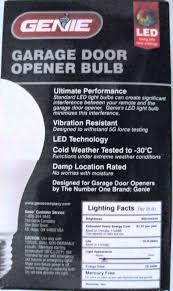 garage opener light bulb r genie garage door opener light bulb led bulbs effect garage door