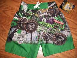 monster jam grave digger truck monster jam grave digger truck swim trunks water pants bathing