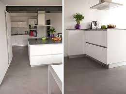 cuisine sol sol tendance pour cuisine flexibul décoration
