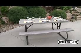 lifetime 6 folding picnic table best tables