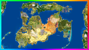 map vi updated gta 6 gta 5 city expansion concept map with detailed