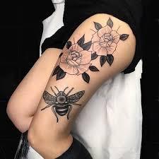 25 badass thigh tattoo ideas for women stayglam