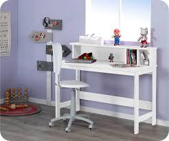 bureau enfant moderne bureau pour enfant design blanc et avec plateau relevable sissi
