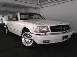 mercedes 560 sec coupe for sale 1988 mercedes 560 sec convertible find for sale photos