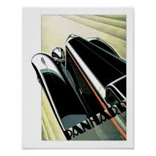 art deco car posters zazzle