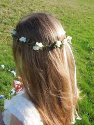 getting fullness on the hair crown 21 flower girl items we can t get enough of flower girl crown