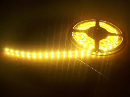 yellow led strip lights other lights golden yellow waterproof car home led