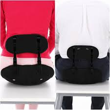 posture corrector lumbar back support seat cushion for lower