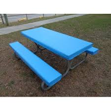 fitted picnic table covers fitted heavy duty marine upholstery vinyl picnic table cover sets