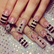 17 beautiful nail designs for long nails 2017 pretty designs