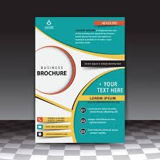 stylish business brochure template free vectors ui download