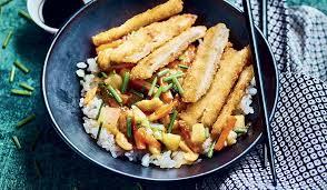 poulet cuisine poulet karaage riz et légumes cuisinés surgelés cuisine évasion
