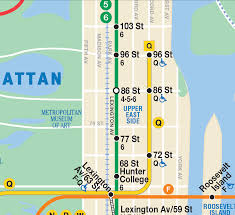 Subway Map by Governor Cuomo Announces Systemwide Installation Of Subway Maps
