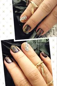 29 best my nail art designs shades of black images on pinterest
