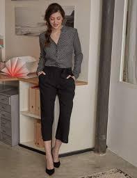 tenue de bureau 15 tenues de bureau pour être au top au travail femme actuelle