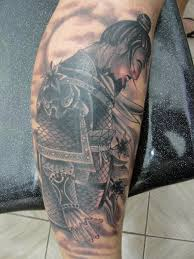 japanese samurai tattoo