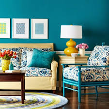 Living Room Decorating Ideas Color Schemes Brown And Teal Living Room Ideas Love The Teal Sofa In A Teal