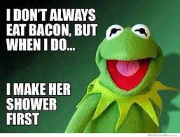 Bacon Memes - i don t always eat bacon weknowmemes