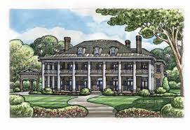 Colonial Style Floor Plans House Plan 66446 At Familyhomeplans Com