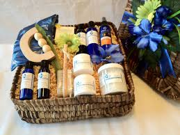 birthday baskets for him spa gift basket for men