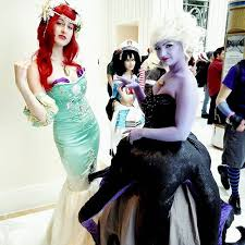 Halloween Costumes Ariel Diy Ariel U0026 Ursula Halloween Costume Idea Diy Halloween Costume