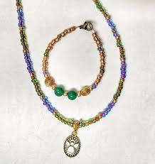 necklace charm diy images Peyote bird bead bottle diy spiritual charm necklace kits the gif