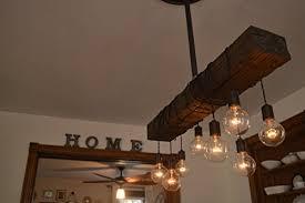 Chandelier With Edison Bulbs Edison Light Chandelier Amazon Com