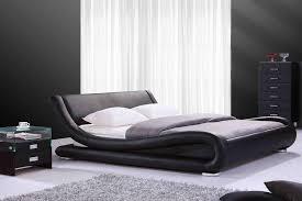 chambre avec lit noir chambre design pas cher chambre a coucher adulte et design pas en