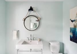 Nautical Bathroom Mirrors by Kid Bathroom Hanging Mirror Design Ideas