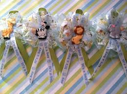 baby shower capias safari animal baby shower theme 12 guest corsage capias