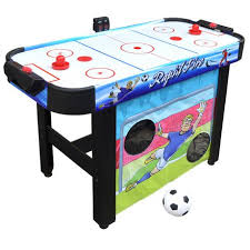 large multi game table hathaway rapid fire 42 3 in 1 air hockey multi game table walmart