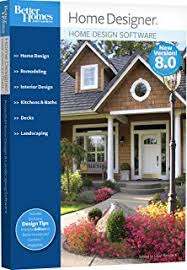 better homes and gardens home design software 8 0 amazon com better homes and gardens landscaping and deck designer