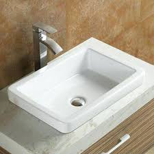 kohler demilav sink reviews kohler demilav sink ceramic rectangular drop in bathroom vessel
