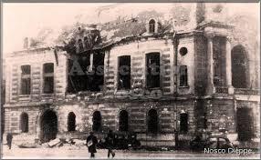 chambre de commerce dieppe la chambre de commerce apres le bombardement du 21 mai 1940