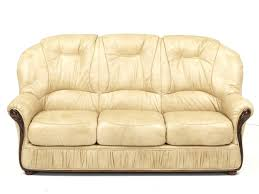 canape cuir rustique canape cuir et bois rustique canapac 3 places 100 debora beige
